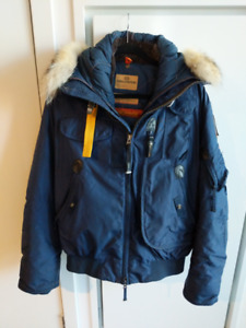 Navy Parajumper Mens Gobi Winter Jacket Large