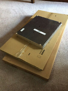IKEA *NEW* cabinet cupboard, door & shelves (black-brown) $30 Kitchener / Waterloo Kitchener Area image 1