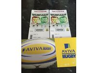 2x tickets Twickenham London Double Header 3rd September
