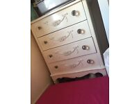 Dunelm Toulousse large chest of drawers