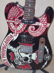 Obey telecaster guitar