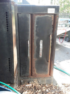 Industrial gas pizza oven