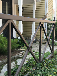 65' Custom Cast Iron Fence - Open to offers