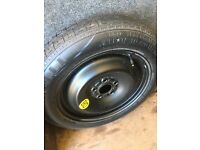 Space saver wheel and tyre from a Mondeo mk3