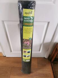 Weed control garden membrane