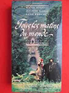 7 Films VHS français et anglais (partie 1 de 2)