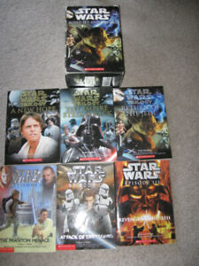 Star Wars Boxed Set-Episodes 1-6 Scholastic 6 books-Very good