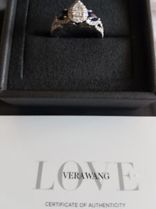 Engagement Ring Never Worn. Size 6 Vera Wang Love Collection