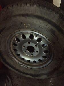 Spare tire-from 2000 Yukon Denali