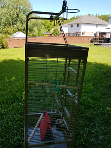 PARROT CAGE AND BUDGE CAGES