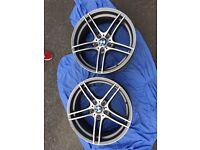 Genuine BMW 313 alloy wheels front 2 or 1