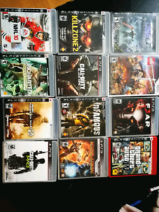 Ps3 with 12 games.