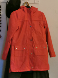 Waterproof girls coat to fit 12-13yrs