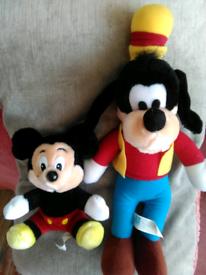 New Disney soft toys