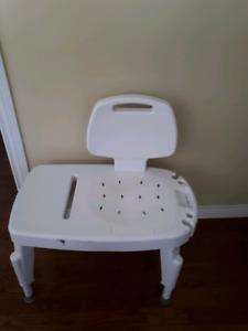Disability bath chair