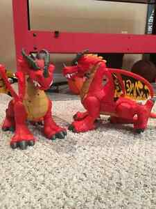 Castle toy set with dragons and troll Moose Jaw Regina Area image 4