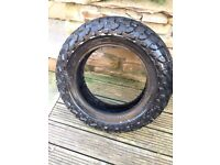 Yamaha tw 125 tyres and front wheel (used)