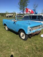 1964 International Harvester Scout 80 4x4 and winch