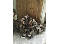 Pile of bricks from 1920s house