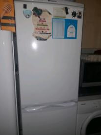 Hotpoint fridge freezer.