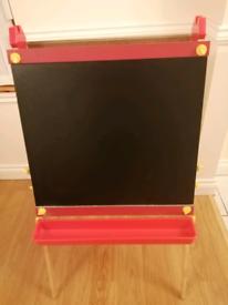 Black /white board /easel for kids