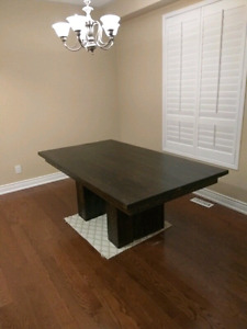 6.5' harvest table with 8x8 legs 1200 *SALE*