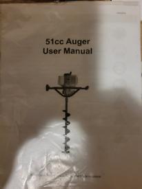 Auger 51cc