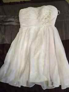 Short wedding dress- robe courte