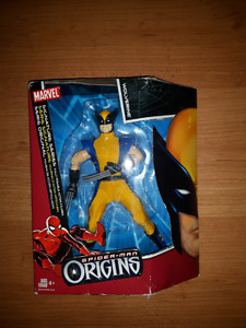 Spider-Man Origins 20cm Wolverine figure in package