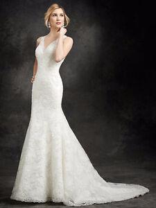 Ella Rosa Wedding Dress For Sale Unaltered