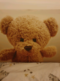 Beautiful Teddy bear 🧸 canvas picture