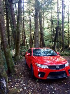 Red 2010 Kia Forte koup Sale: Runs perfectly, Clean, only 7695