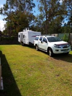 ISUZU UTE AND JAYCO CARAVAN COMBO Hallidays Point Greater Taree Area Preview