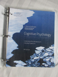 Cognitive Psychology, Goldstein, 4th ed, Looseleaf