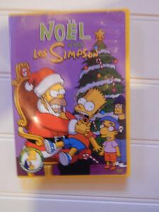 lot Simpsons et DVD de Noel