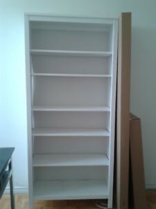 HEMNES Bookcase, white