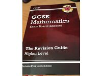 CGP GCSE mathematics revision guide