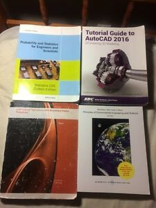 Civil Engineering U of A 2nd Year Textbooks for SALE