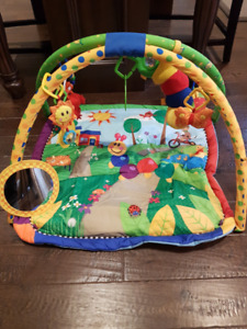 New Baby Einstein play station mat and toys