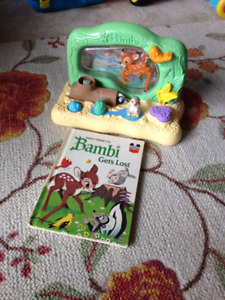 Bambi gets lost - Walt Disney 1971, the book and the toy