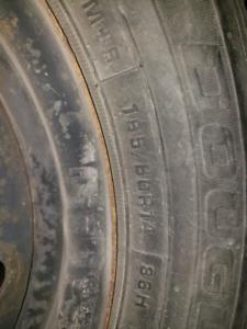 195 60 14 Tires Over 8/32 Tread Left 4x100 vw honda
