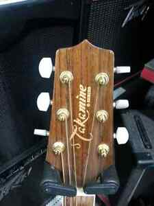 Takamine Electic acoustic guitar. We sell used goods  100706
