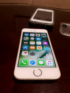 GOLD IPHONE 5SE 16GB TELUS/KOODO