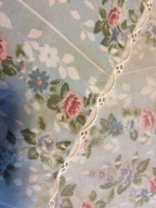 Jessica McClintock Blue Roses Twin Flat And Fitted Sheets Floral London Ontario image 5