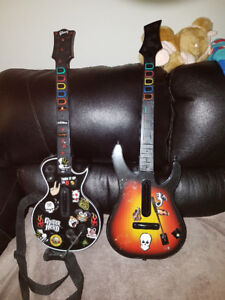 2 guitars $20 each or $30 for both.