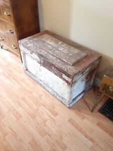 Coffee table from repurposed Tool Box