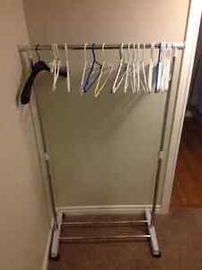 Shirt hanging rack in perfect condition $10 Kitchener / Waterloo Kitchener Area image 1