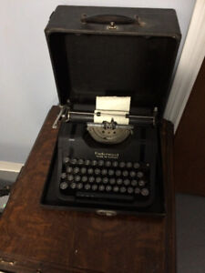Underwood Typewriter - Portable