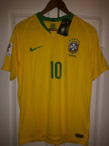 2018 World Cup - Neymar Jerseys - new with tags
