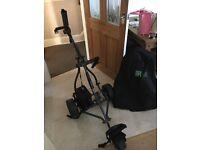 Powerhouse golf battery trolley